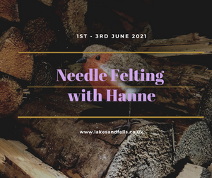 Needle Felting Midweek Retreat (incl Wool Shop Visit) with Hanne, 1st - 3rd June 2021