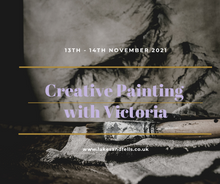 Load image into Gallery viewer, Creative Painting Weekend Retreat with Victoria (13th - 14th Nov 2021)
