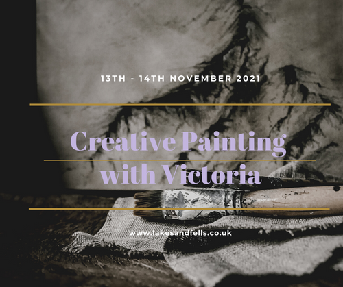 Creative Painting Weekend Retreat with Victoria, 13th - 14th Nov 2021
