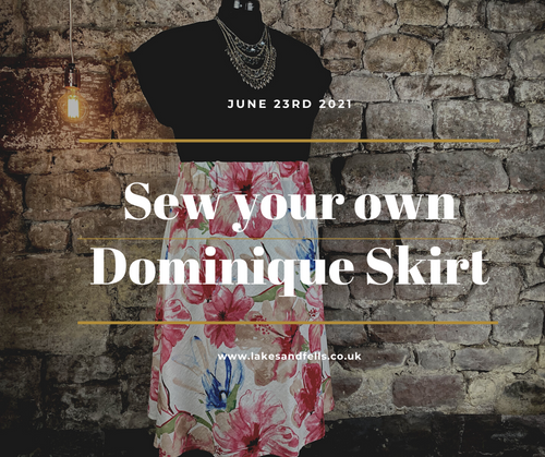 Sew your own Dominique Skirt with Lucy, June 23rd 2021