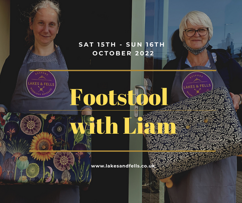 Dressing / Footstool Weekend with Liam (September 19th - 20th 2020)