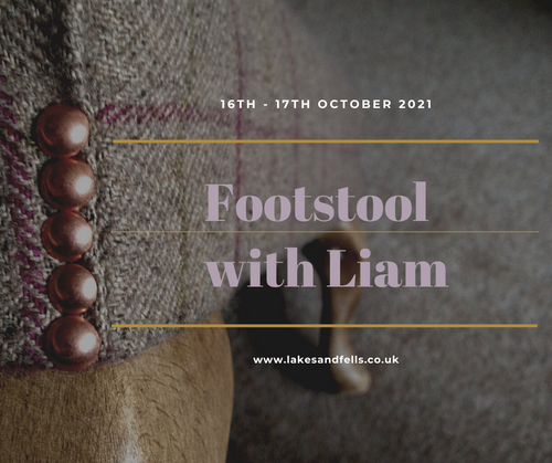 Dressing / Footstool Weekend with Liam, 16th - 17th October 2021