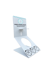 Load image into Gallery viewer, Hand Sanitiser Desktop Counter Dispenser Holder 500mls included
