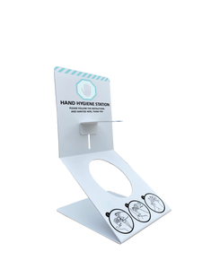 Hand Sanitiser Desktop Counter Dispenser Holder 500mls included