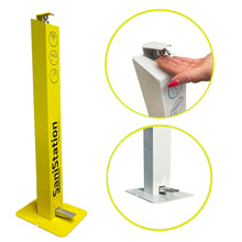 Load image into Gallery viewer, Hand Sanitiser Stand, Foot operated, Industrial P1, Hand Sanitiser Dispenser Station- £110 ex VAT