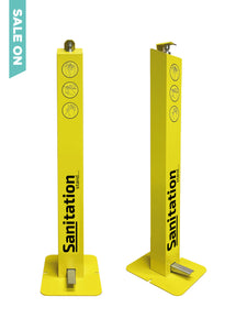 Hand Sanitiser Stand, Foot operated, Industrial P1, Hand Sanitiser Dispenser Station- £110 ex VAT
