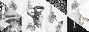 Sagely Sparrow: Shop Patron Saint Necklaces