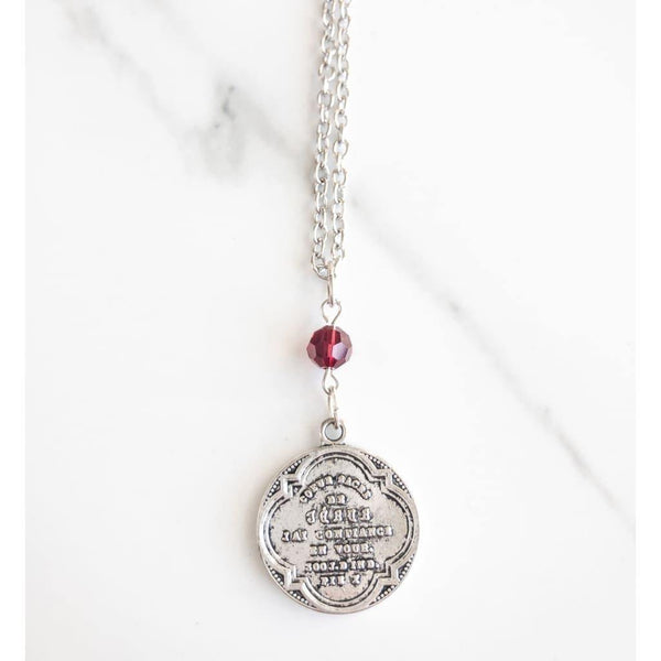 French Sacred Heart Necklace - Necklace