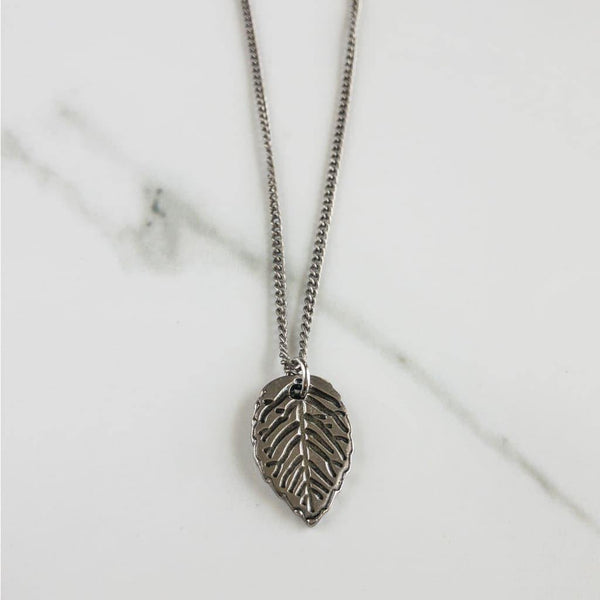 Leaf Necklace - Necklace