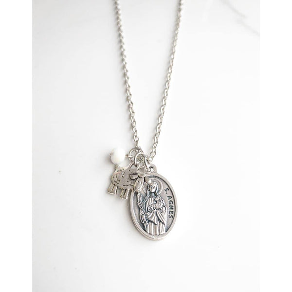 St Agnes Necklace - Saint Necklace