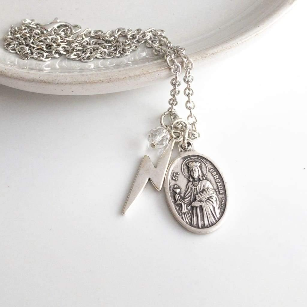 St Barbara Necklace - Saint Necklace