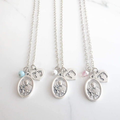 St Gerard Pregnant Mothers Necklace - Saint Necklace