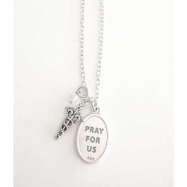 St Gianna Molla Necklace - Saint Necklace