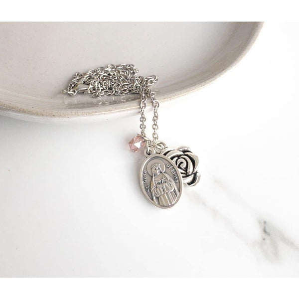 St Rose of Lima Necklace - Saint Necklace