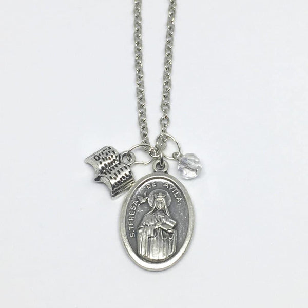 St Teresa of Avila Necklace - Necklace