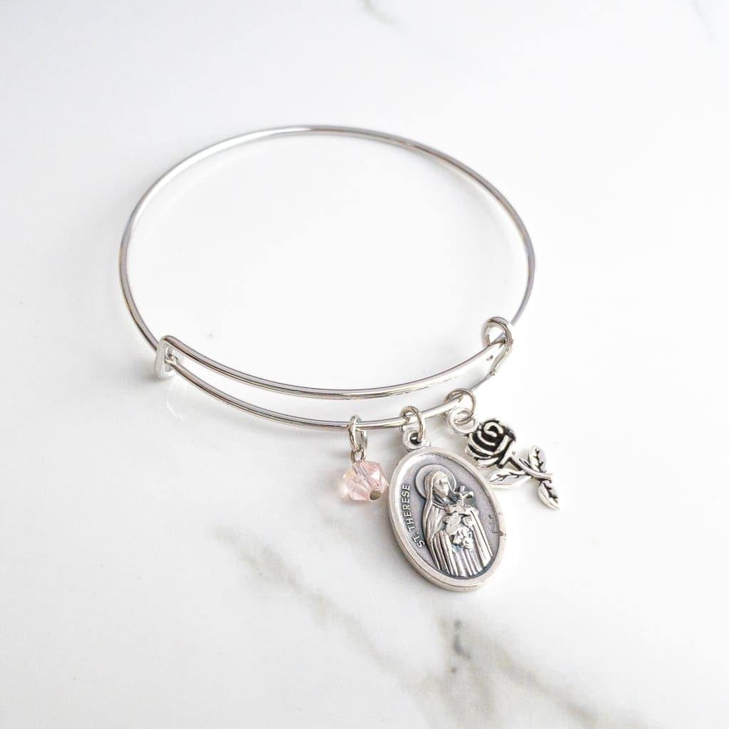 St Therese of Lisieux Confirmation Bracelet - Bracelet