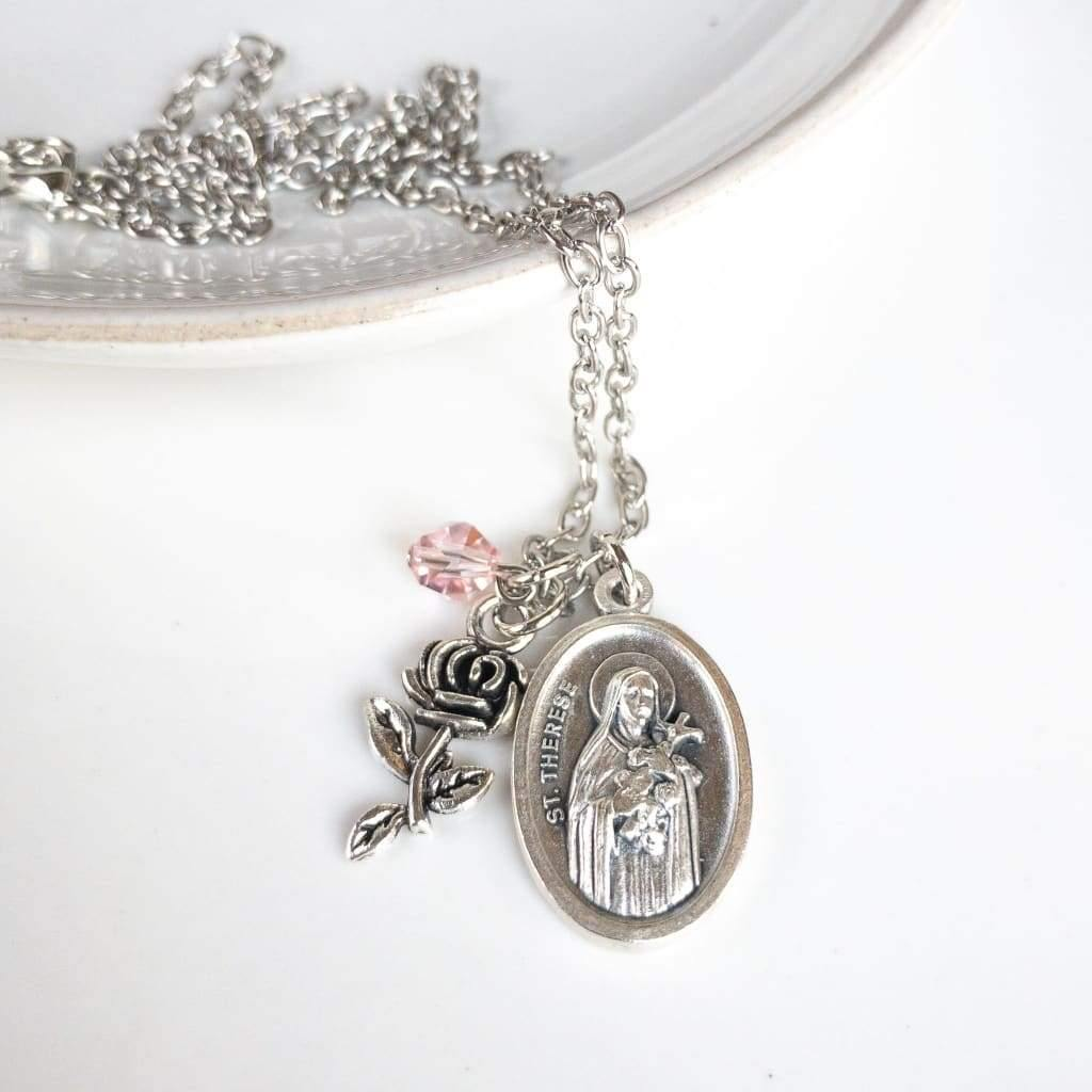 St Therese of Lisieux Necklace - Necklace