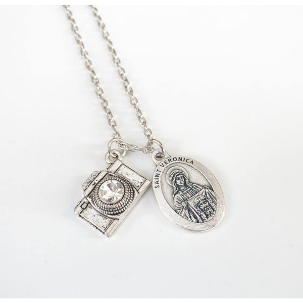 St Veronica Necklace - Saint Necklace