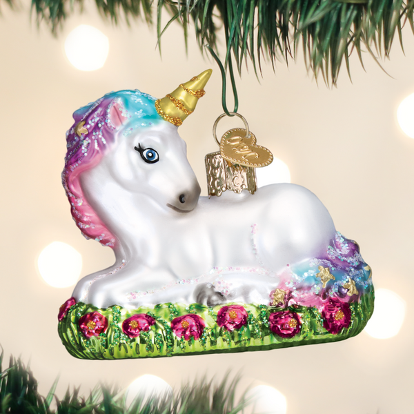 Baby Unicorn Ornament