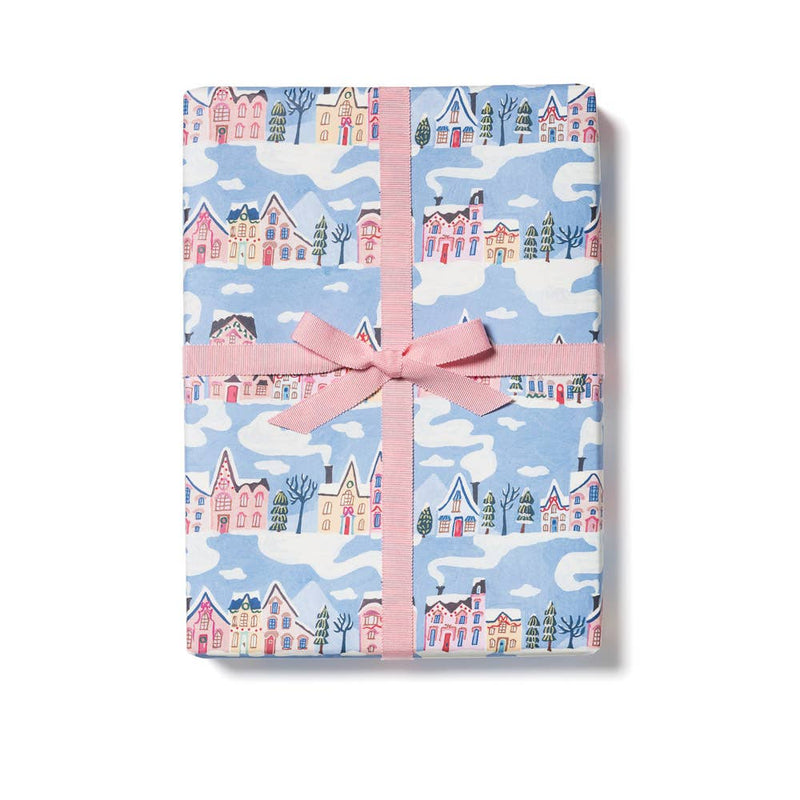 Little Pink Houses Gift Wrap