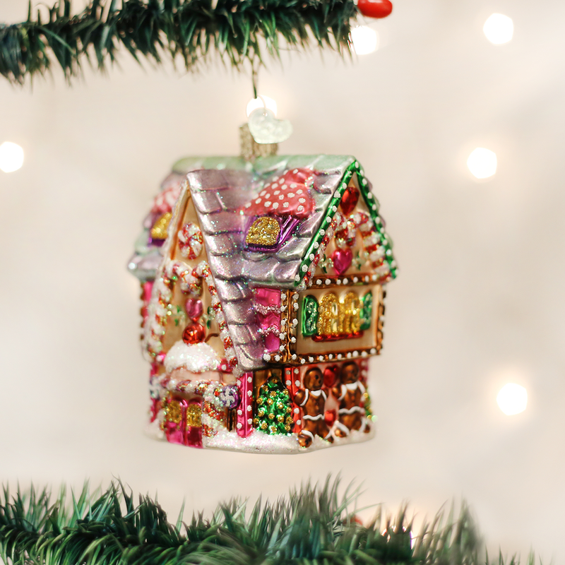Cupcake Cottage Ornament