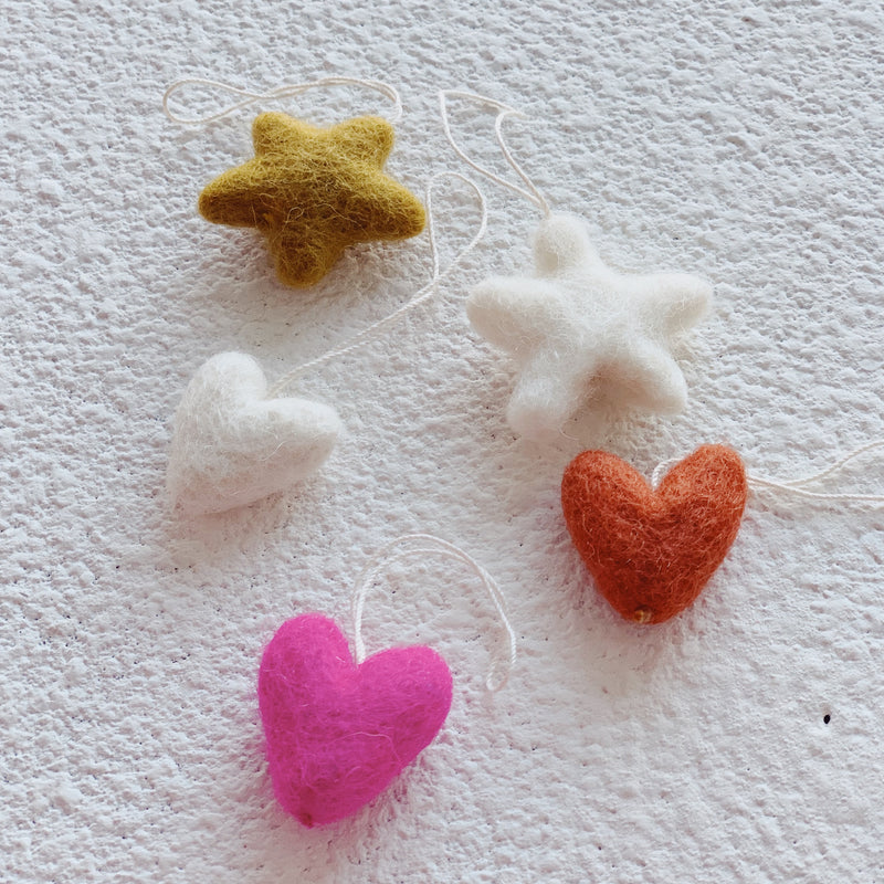 Felted Ornaments