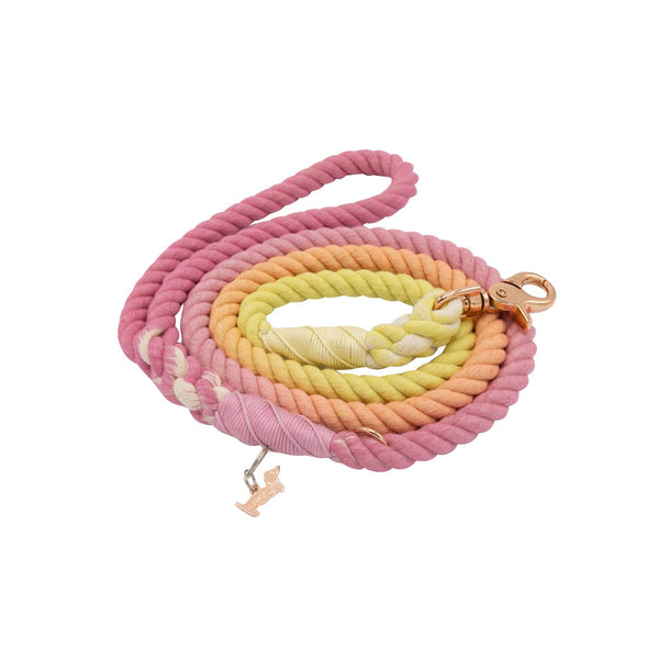 Sunkissed Cotton Rope Leash