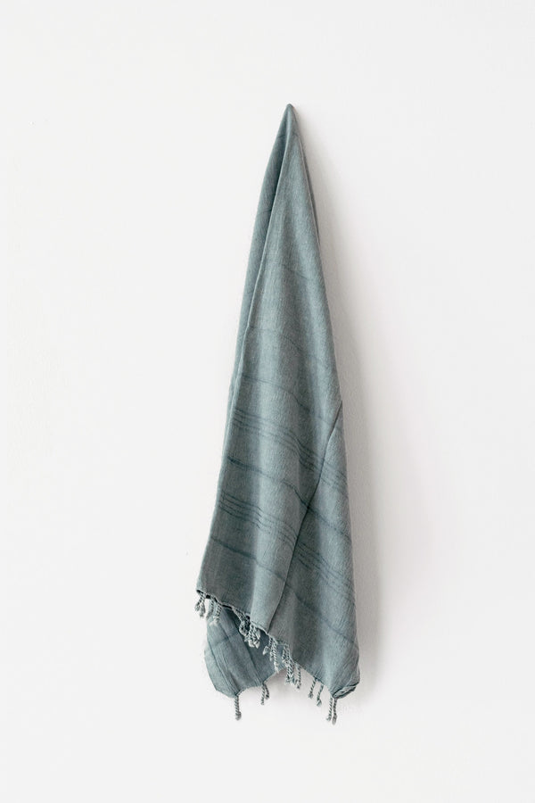 Sky Stonewashed Turkish Towel