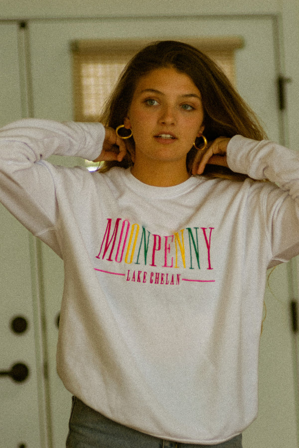 The Classic Sweatshirt in Rainbow