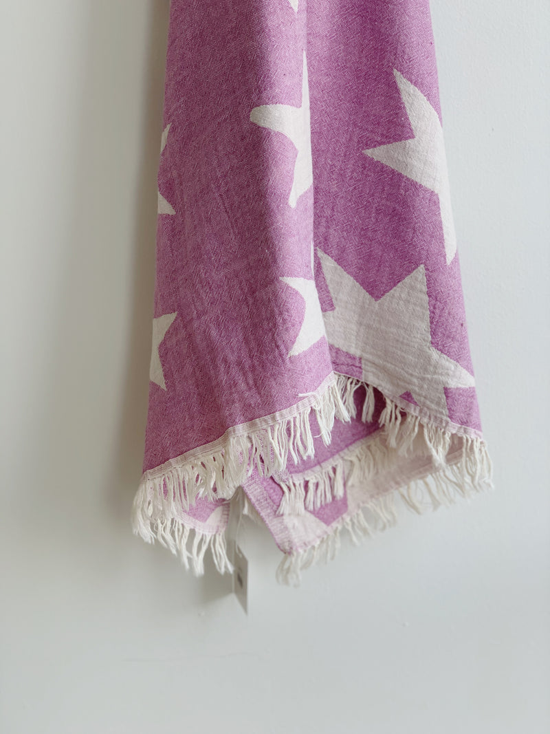 Orchid Star Turkish Towel