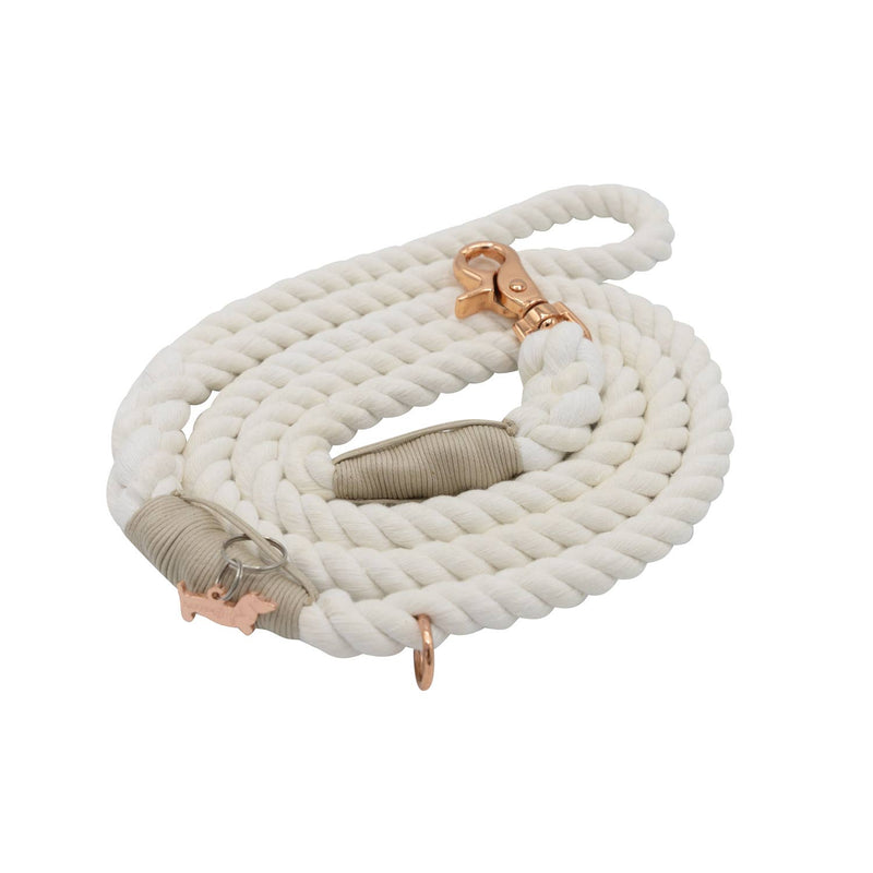 Dove Cotton Rope Leash