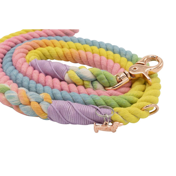 Fiesta Cotton Rope Leash