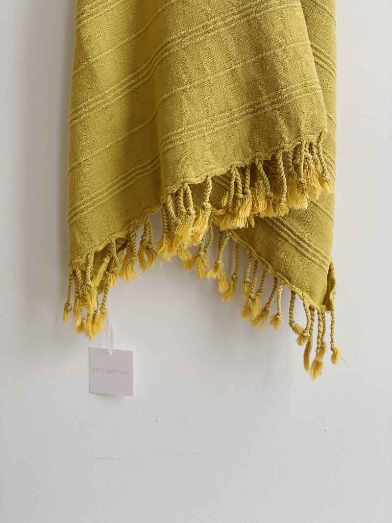 Chartreuse Turkish Towel