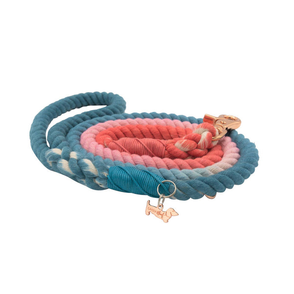 Jack & Jill Cotton Rope Leash