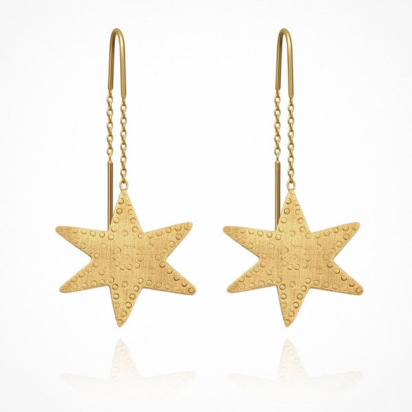 Astra Earrings | Gold