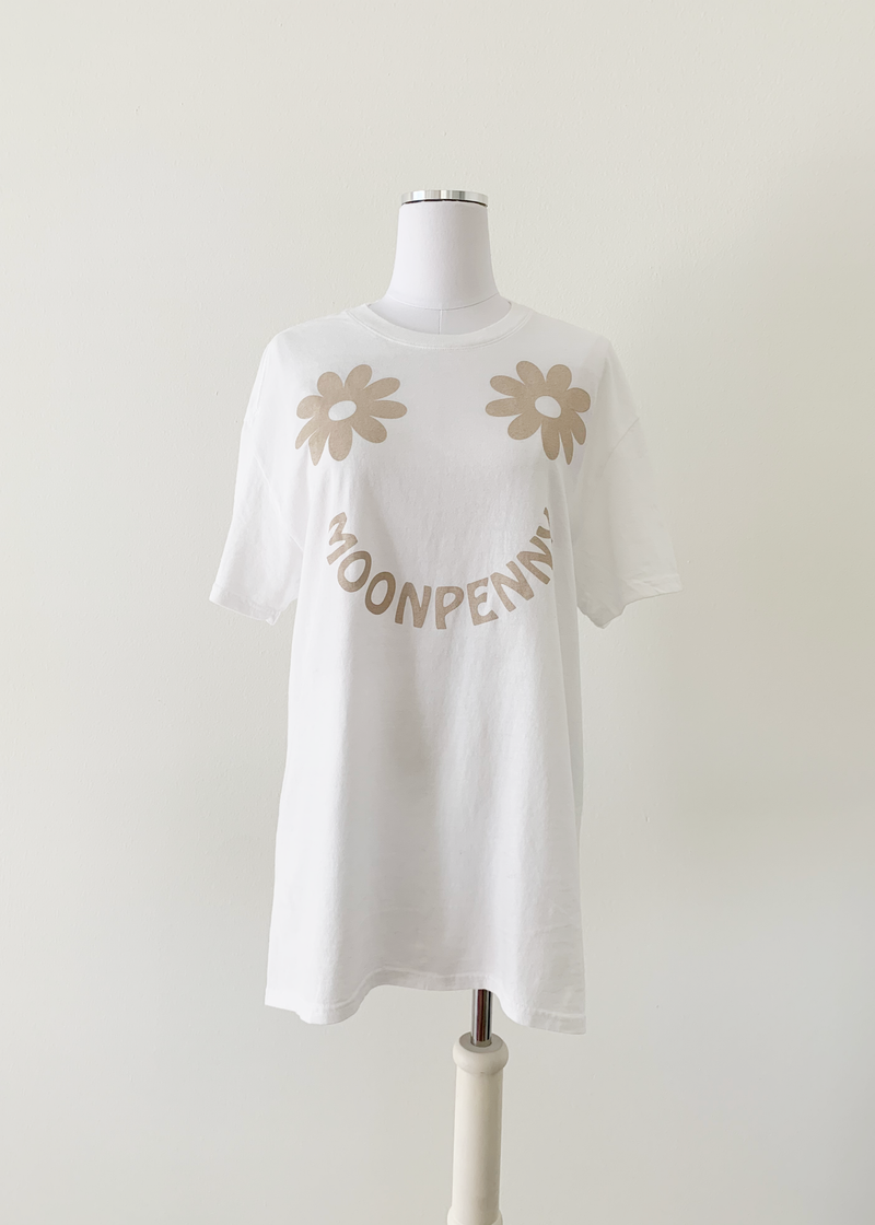 The Daisy Tee in Coco/Tan