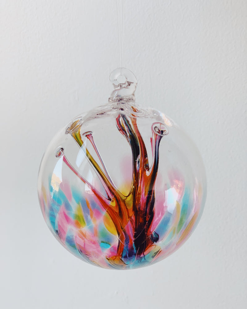Large Glass Wish Ornament