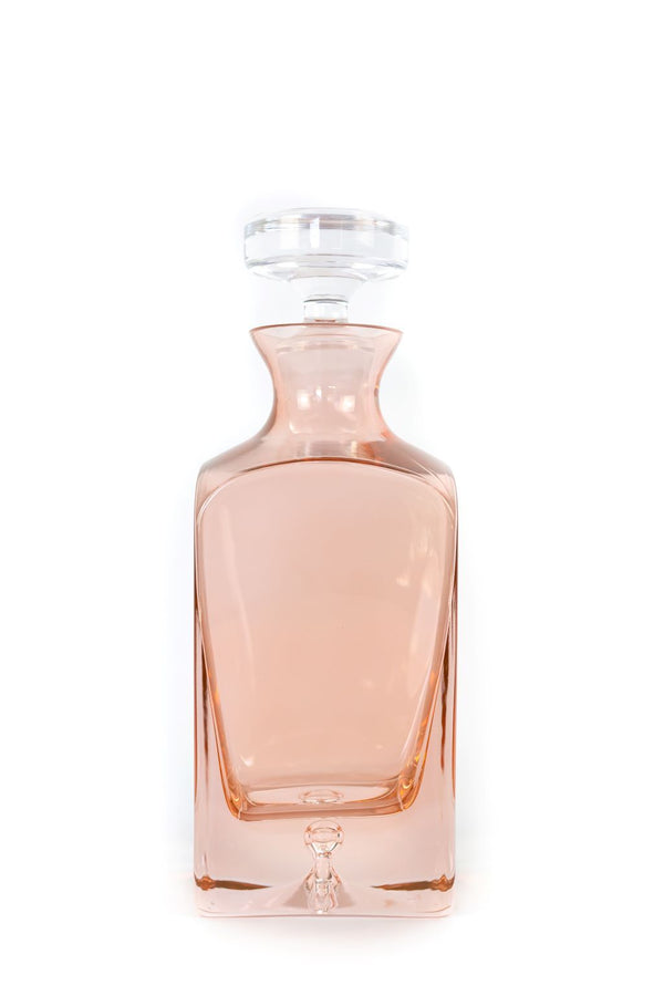 Blush Pink Estelle Decanter
