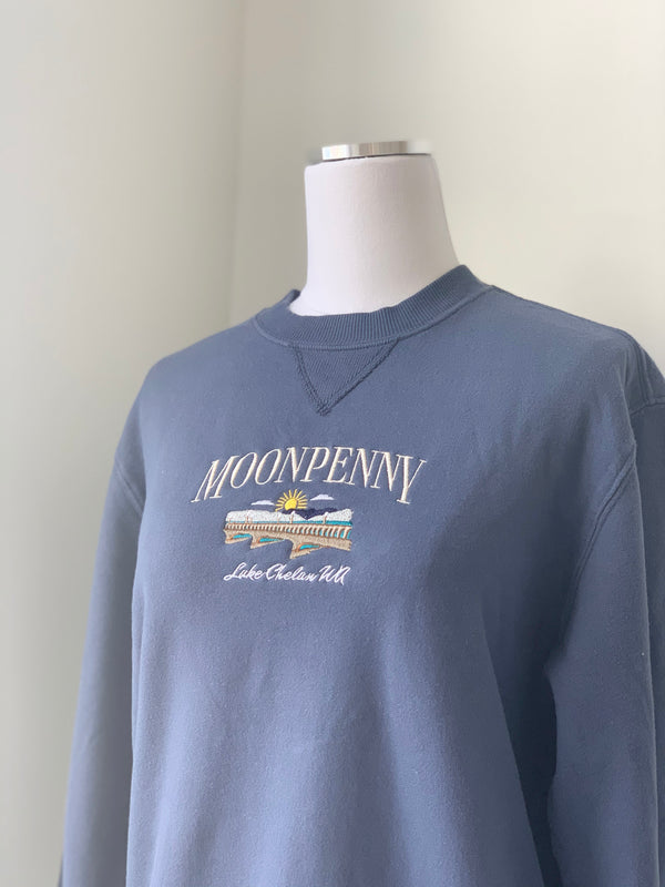 The Bridge Sweatshirt in Navy
