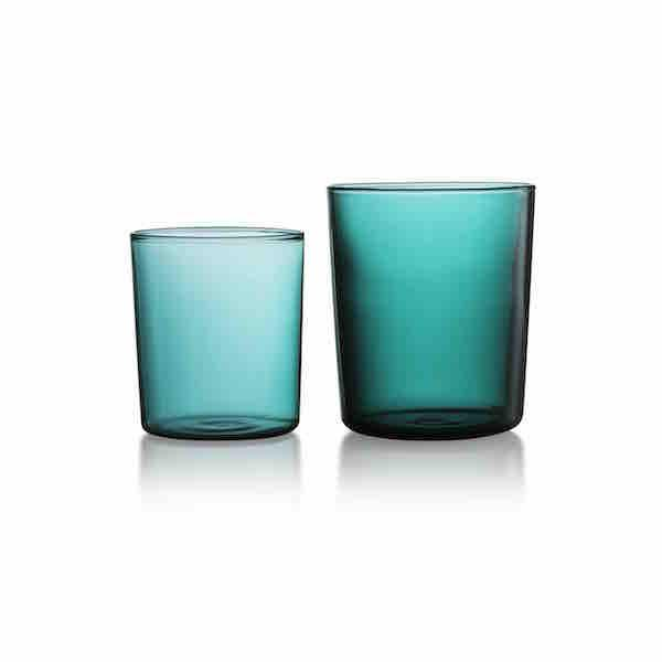 Teal Goblet Set