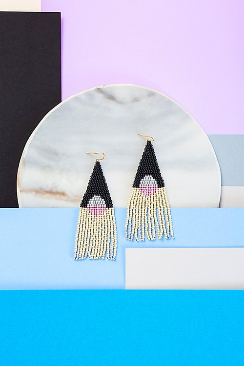 Moonshadow in Lilac Earrings