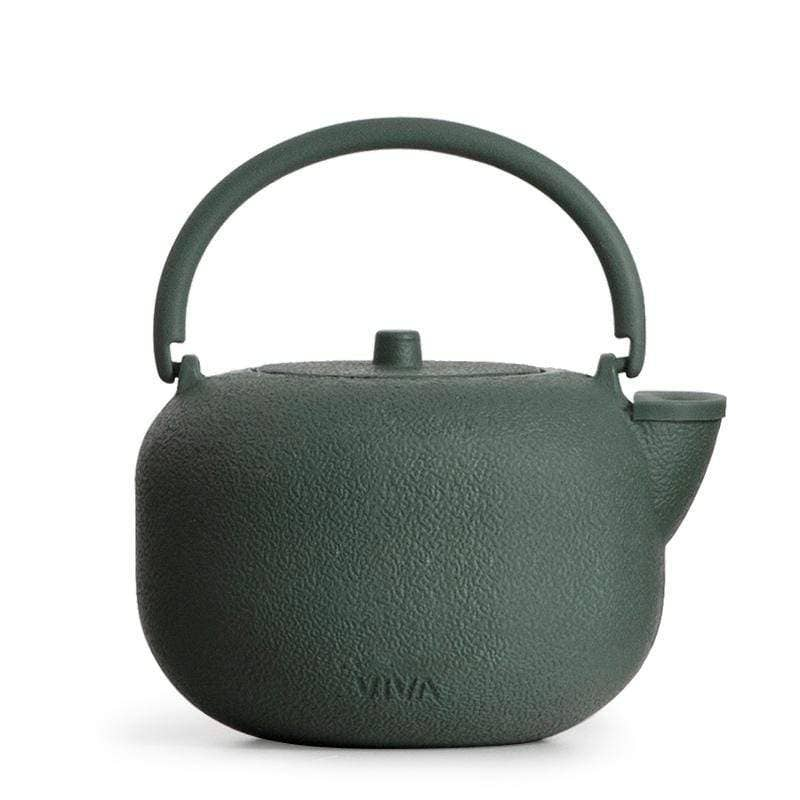 SAGA Cast Iron Teapot in Forest