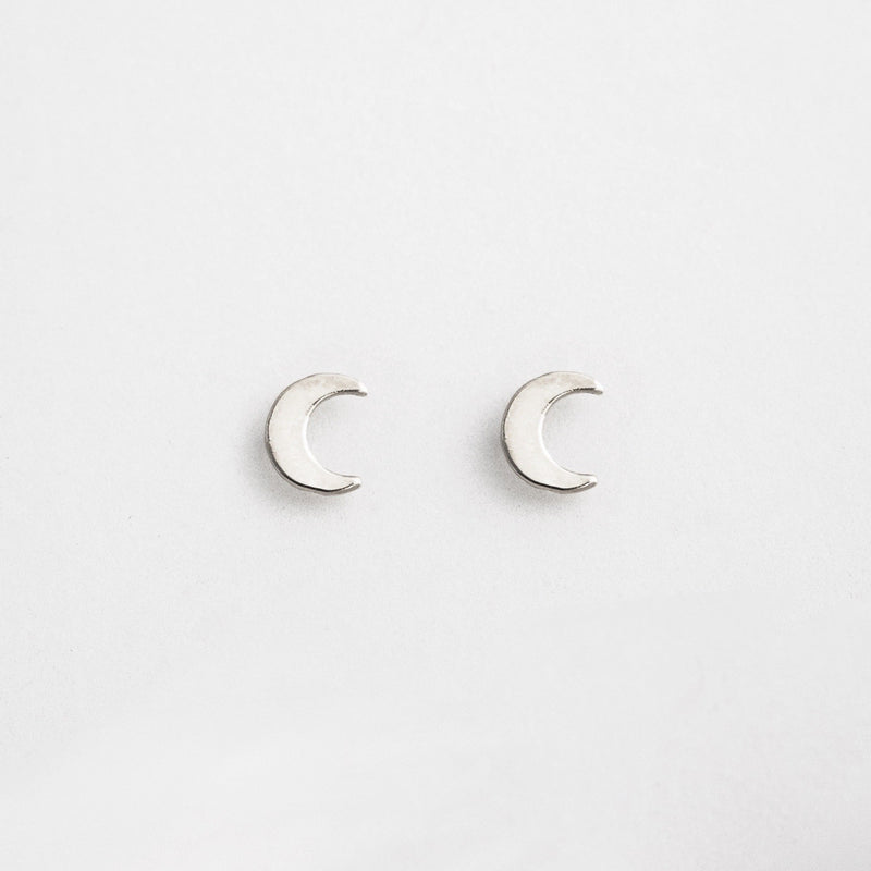 Crescent Moon Stud