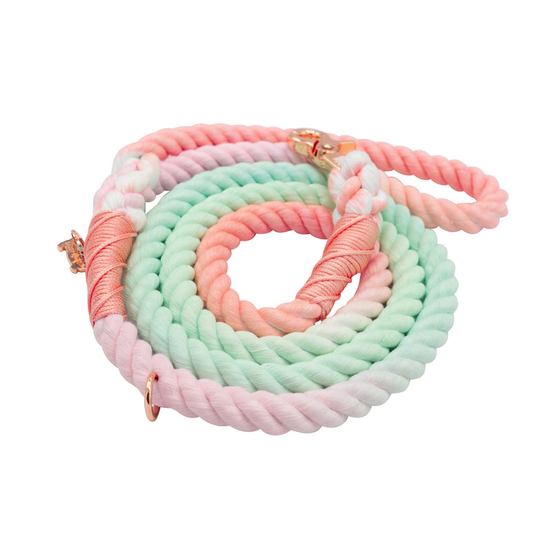 Sherbet Cotton Rope Leash