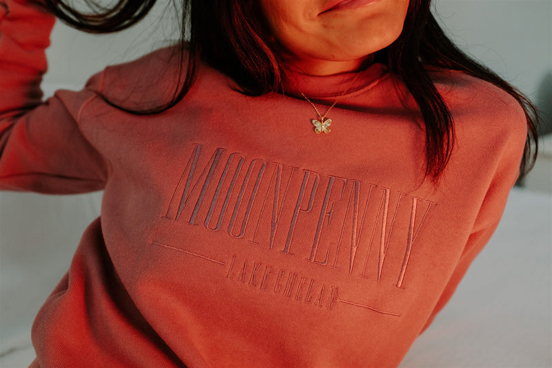 The Classic Sweatshirt in Rose Clay