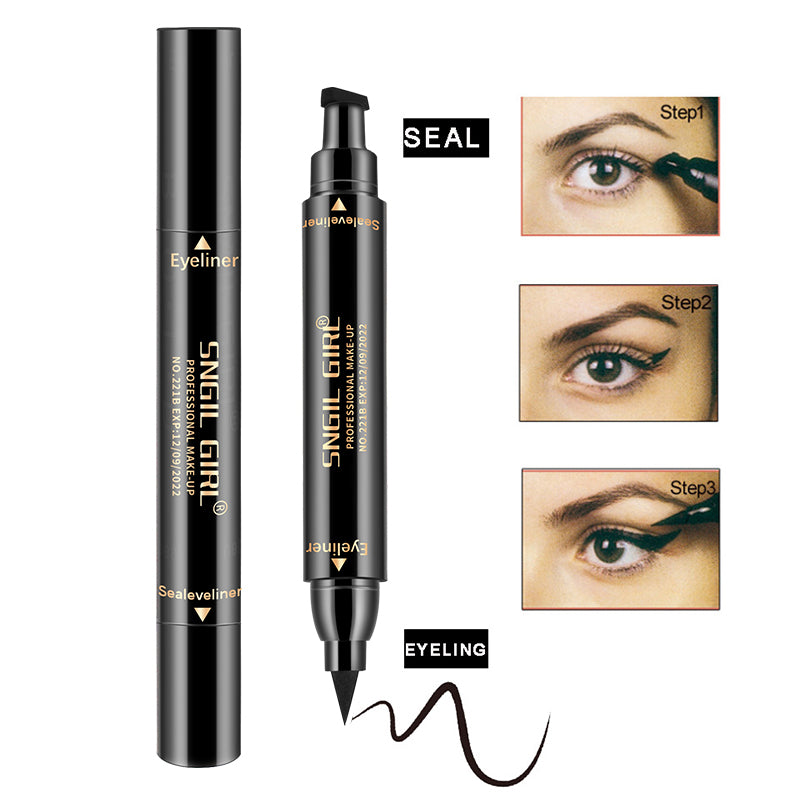 Winged Eyeliner Stamp Waterproof Make Up, Smudgeproof, Long Lasting Liquid Eye liner Pen