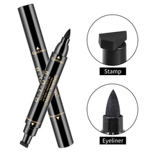 Load image into Gallery viewer, Winged Eyeliner Stamp Waterproof Make Up, Smudgeproof, Long Lasting Liquid Eye liner Pen