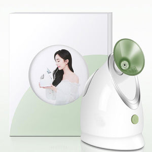 Private label Facial refreshing anti-fatigue electric mist sprayer nano mister facial steamer