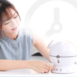 Nano Ionic Face Steamers for Facial Portable Home Facial Humidifier Warm Mist Steam Face Machine