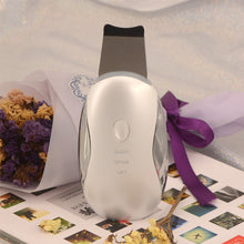 Load image into Gallery viewer, portable beauty Ultrasonic skin cleaner device Face Lift Skin Scrubber